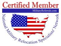 MilitaryReferrals.com logo - 200 px
