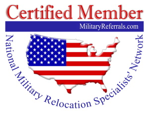 MilitaryReferrals.com logo - 300 px